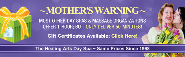 Mother's Day Spa Warning